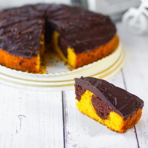 """Торт """"Шоколадно–апельсиновый"""""""