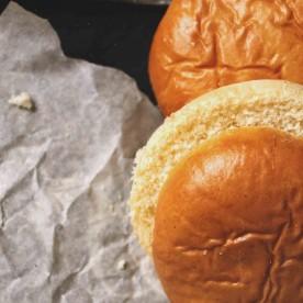 Классические булочки для гамбург..