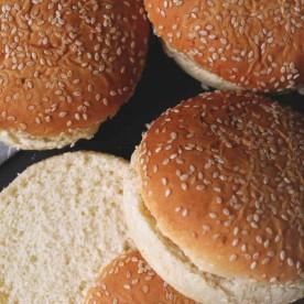 Булочки для гамбургеров с кунжут..