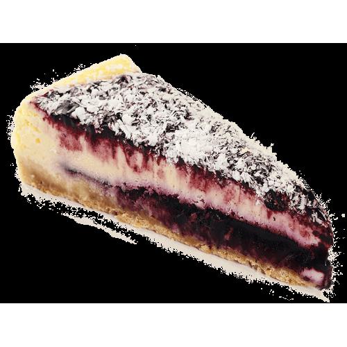 Черничный Чизкейк с Белым Шоколадом