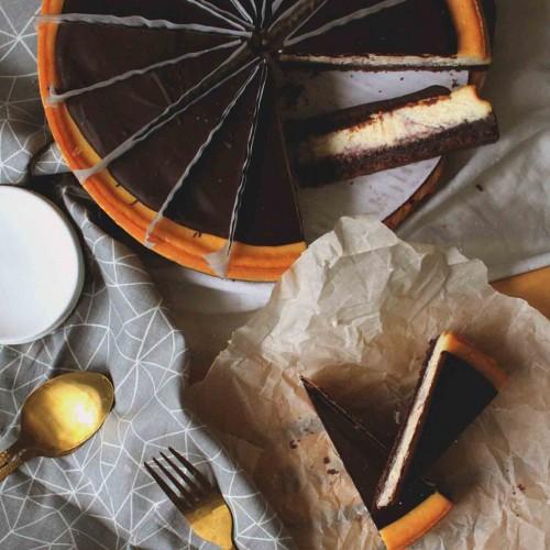 Чизкейк Малиновый с Шоколадом