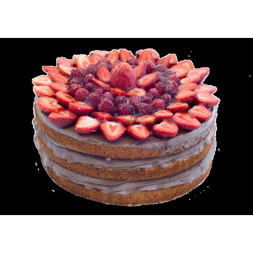 Малиново-Клубничный Торт