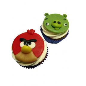 """Капкейки """"Angry Birds"""""""