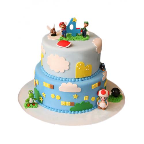 "Детский Торт ""Марио"""