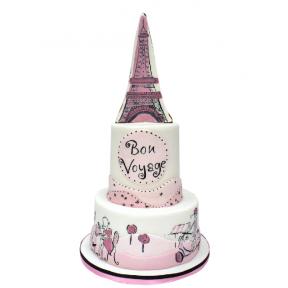 """Праздничный Торт """"Bon Voyage"""""""