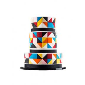 """Торт """"Цветная Геометрия"""""""