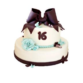 """Праздничный Торт """"Сладкие 16"""""""