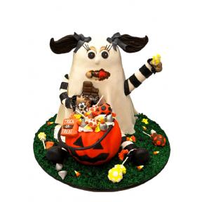 """Праздничный Торт """"Призрак Хэллоуина"""""""
