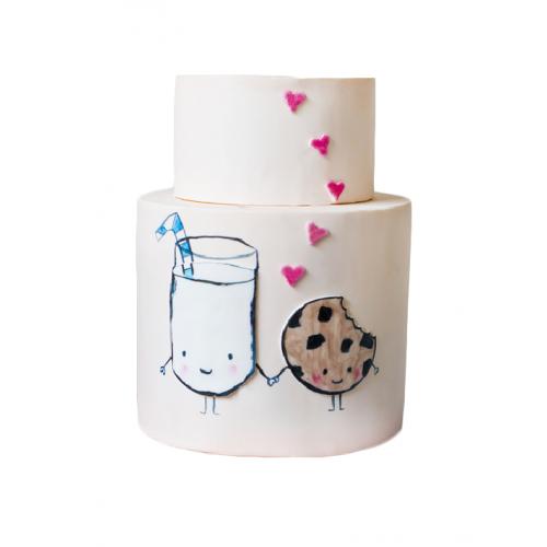 """Праздничный Торт """"Идеальная пара"""""""