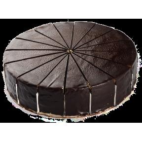 Торт Маковый с Черным Шоколадом